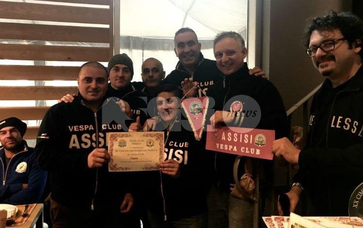 Il Vespa Club Assisi al Raduno Nazionale del Vespa Club Firenze