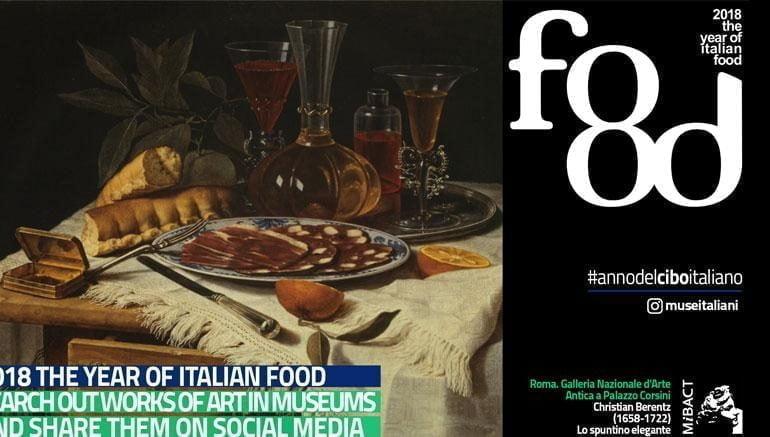 Il circolo Fortini e Oicos aprono l'anno 2018 con Il cibo nell'arte