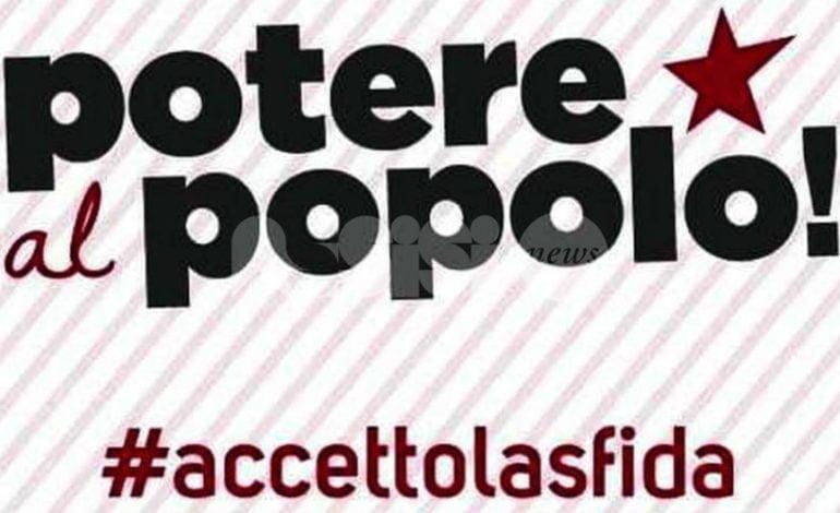 Potere al Popolo!, il partito si presenta ad Assisi con un'assemblea