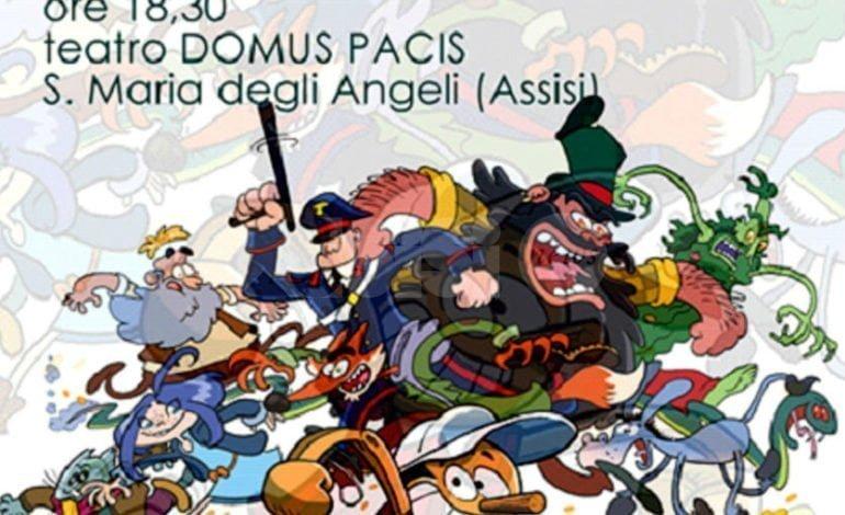 Ottonari di Pinocchio di Paolo Buzzao presentato ad Assisi l'11 marzo 2018