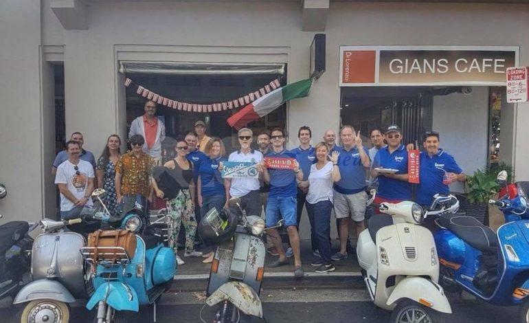 Il Vespa Club di Assisi vola  a Sidney grazie a Mauro Bani