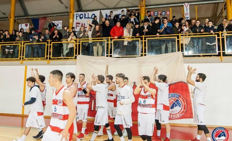 Basket, l'Adrilog Virtus Assisi batte Viterbo e sogna in grande