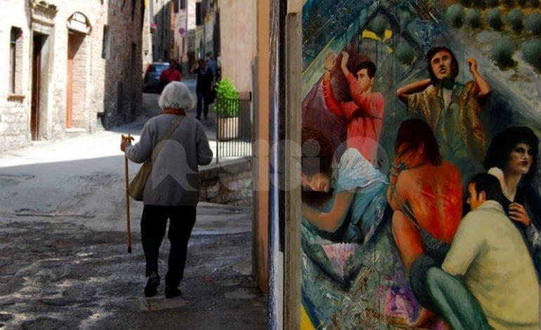 A Spello la Via Crucis d'Autore 2018: Venerdì Santo la città diventa uno spazio espositivo