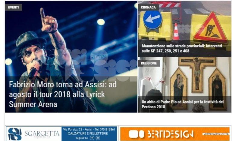 AssisiNews attiva le notifiche push: alert su pc e telefoni per le news principali