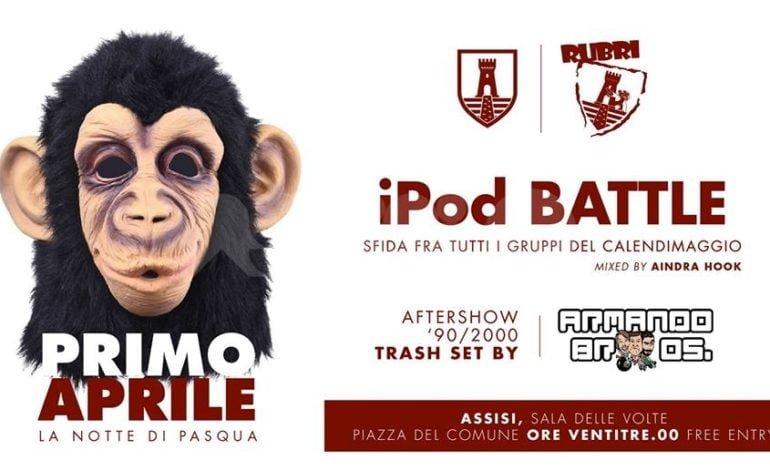 A Pasqua ad Assisi torna la iPod Battle 2018 dei gruppi del Calendimaggio