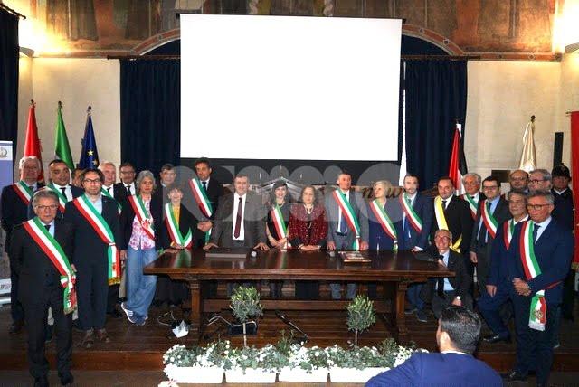 Siglato ad Assisi il documento di cooperazione fra le città gemellate con Betlemme e il Comune palestinese