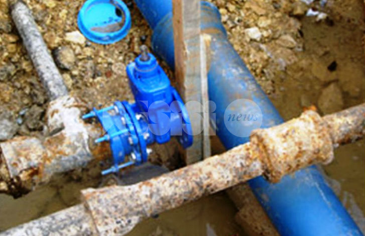 Manutenzione straordinaria nelle condotte idriche, il 19 aprile acqua a singhiozzo a Santa Maria