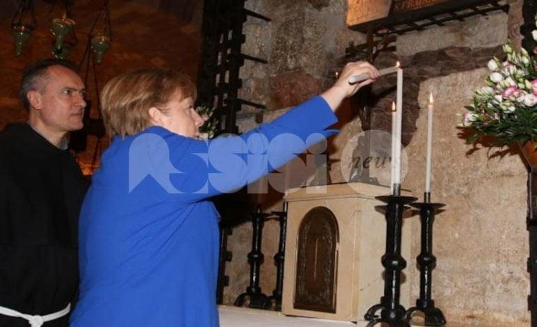 Assisi città di pace accoglie Angela Merkel