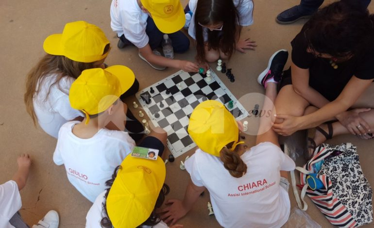 Dieci alunni assisani al Torneo Nazionale di Scacchi per le Scuole