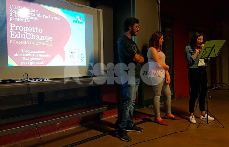 EduCHANGE all'IC Assisi 3: a Petrignano due studenti da Messico e Colombia