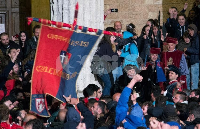 Calendimaggio 2018 di Assisi è Nobilissimo: vince la Parte de Sopra