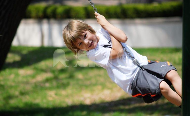 Parchi giochi per bambini, domani l'inaugurazione in via Raffaello