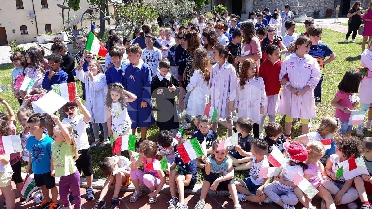All'Istituto Comprensivo Torgiano-Bettona si è festeggiato il 2 giugno