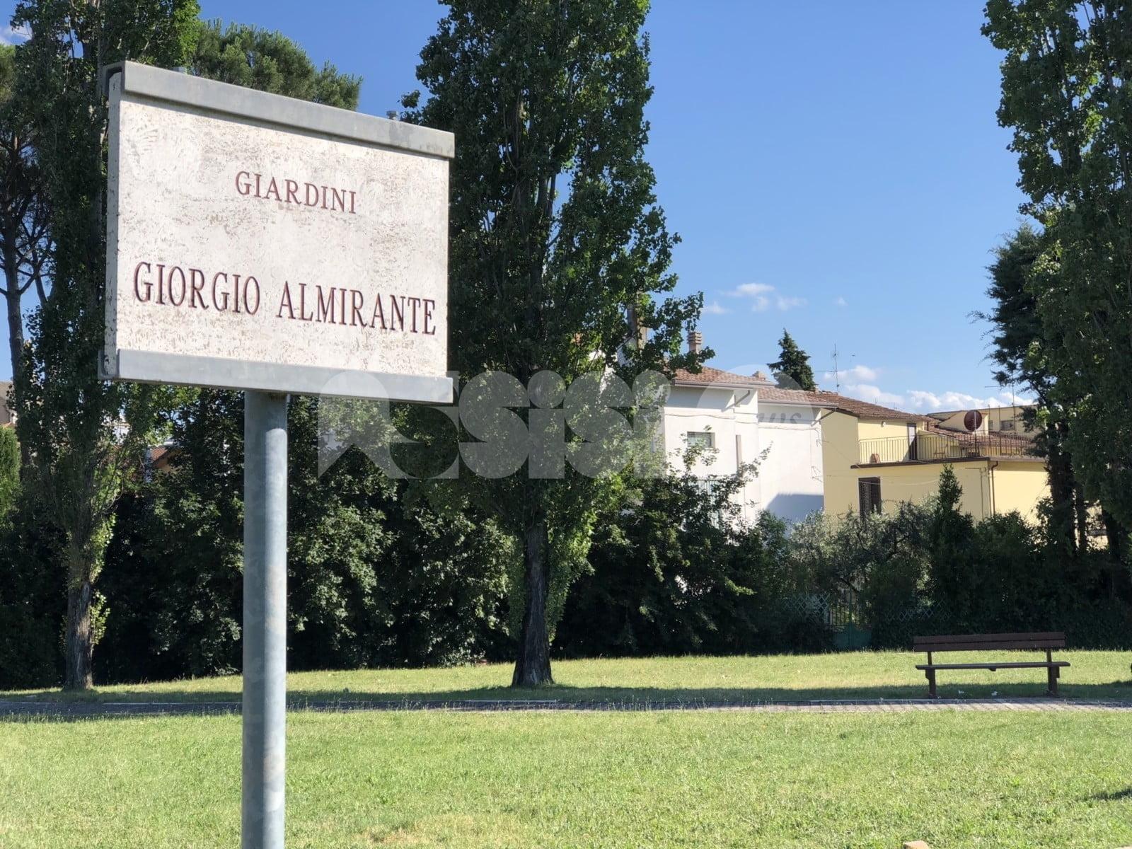 """Giardini Almirante, Anpi Valle Umbra Nord: """"Scelta improvvida della giunta di allora"""""""