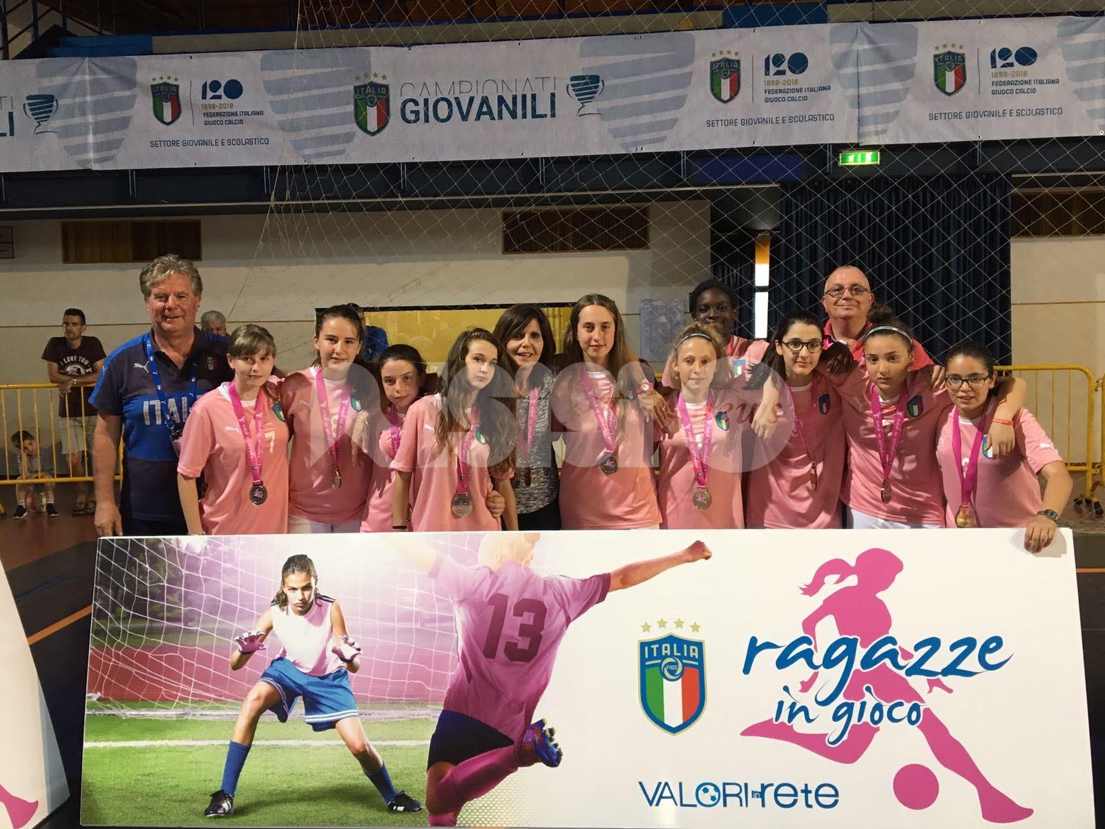 Ragazze in gioco 2018, grande successo per le alunne del Comprensivo Assisi 2