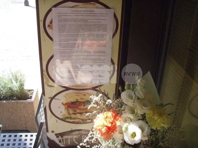 Santa Maria degli Angeli ricorda l'omicidio di Giovanni Becchetti