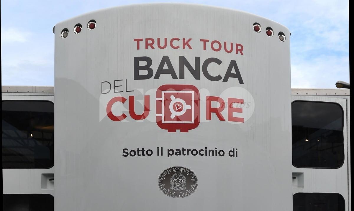 Il Truck Tour Banca del Cuore 2018 passa anche da Assisi: gli appuntamenti