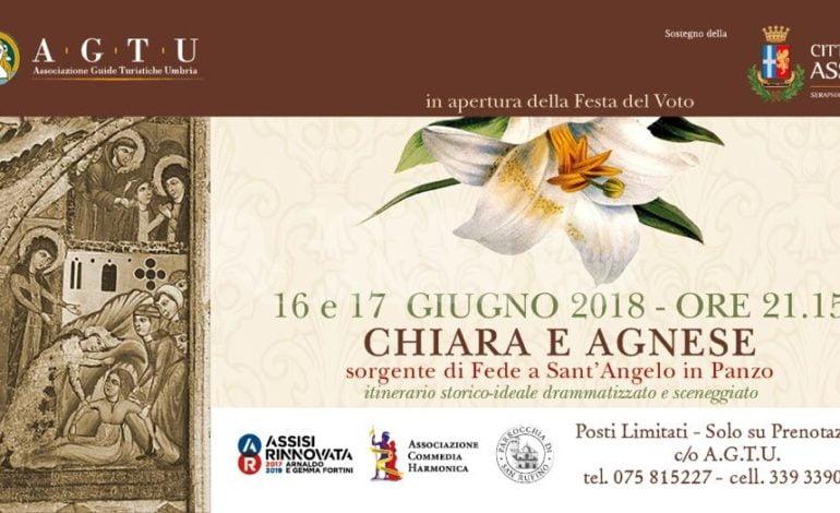 """Il 16 e il 17 giugno lo spettacolo su """"Chiara e Agnese: sorgente di Fede a Sant'Angelo in Panzo"""""""