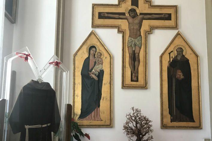 Un abito di Padre Pio ad Assisi per la festività del Perdono 2018