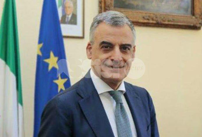 Claudio Sgaraglia è il nuovo prefetto di Perugia, il saluto del sindaco Proietti