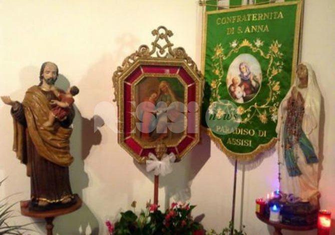 A Paradiso di Assisi torna la Festa di Sant'Anna 2018: il programma
