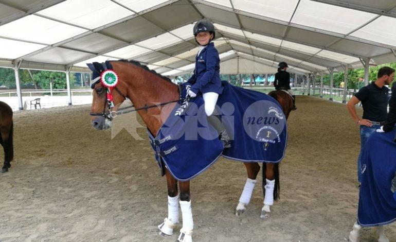 Campionati italiani 2018 pony in dressage: gloria per le atlete umbre