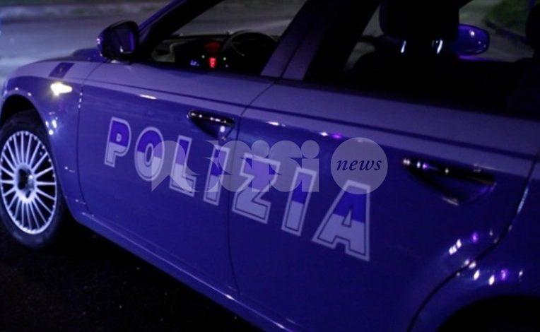 Tentato furto in abitazione, ladro messo in fuga dalla Polizia