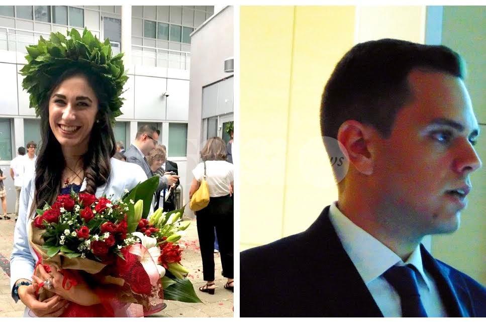 Universitari assisani si fanno onore: sono Stefano Belli e Caterina Bensi