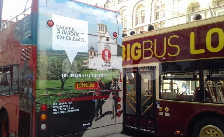 Uno spot dell'Umbria protagonista a Londra con la Basilica di San Francesco