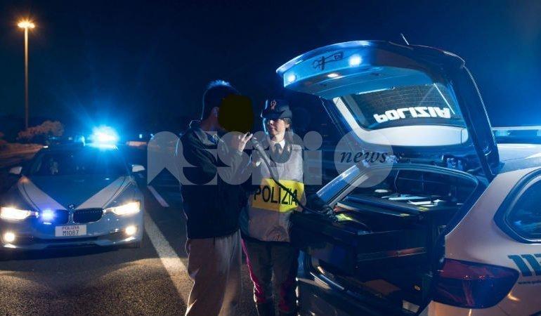 Controlli del sabato sera a Bastia Umbra, cinque denunce