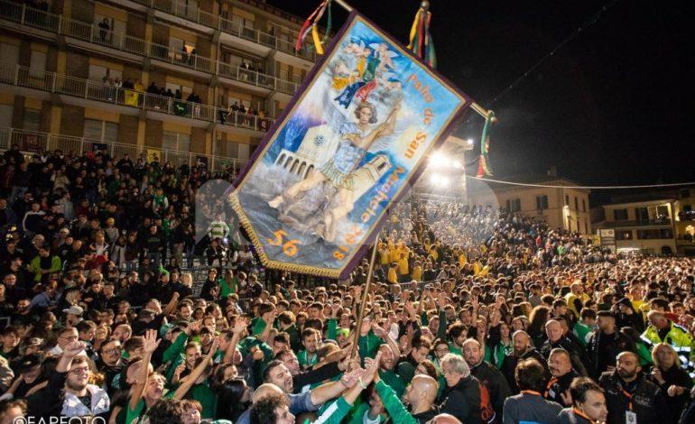 Palio de San Michele 2018, trionfa il Rione San Rocco: è delirio verde