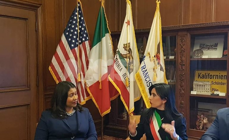 Gemellaggio Assisi-San Francisco, firmata una dichiarazione di intenti in vista del cinquantenario