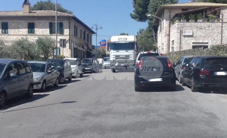 Traffico far west ad Assisi e Santa Maria: tutte le zone problematiche