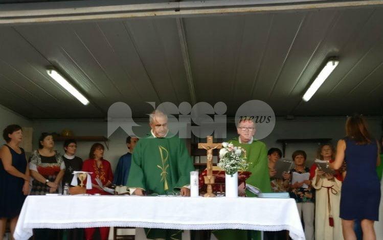 Padre Giuseppe Egizio saluta la montagna assisana: andrà a Roma