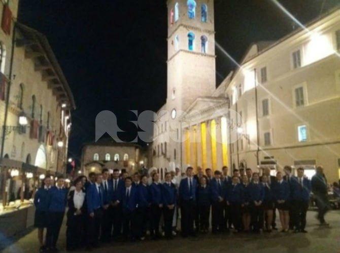 Il Comune di Assisi ringrazia l'Istituto Alberghiero per la cena in Piazza