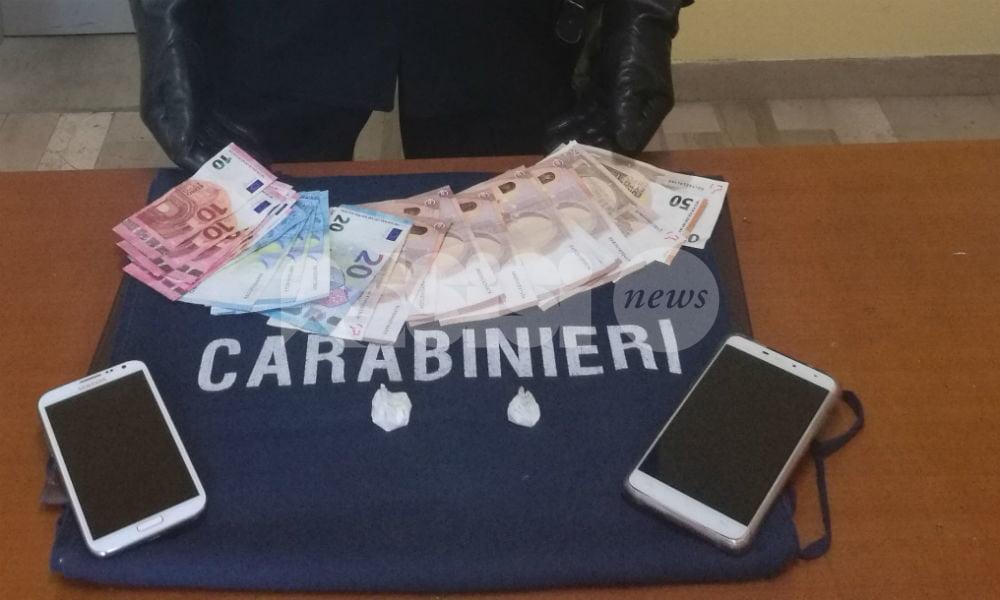 Contrasto allo spaccio di stupefacenti, a Valfabbrica terzo arresto in un mese