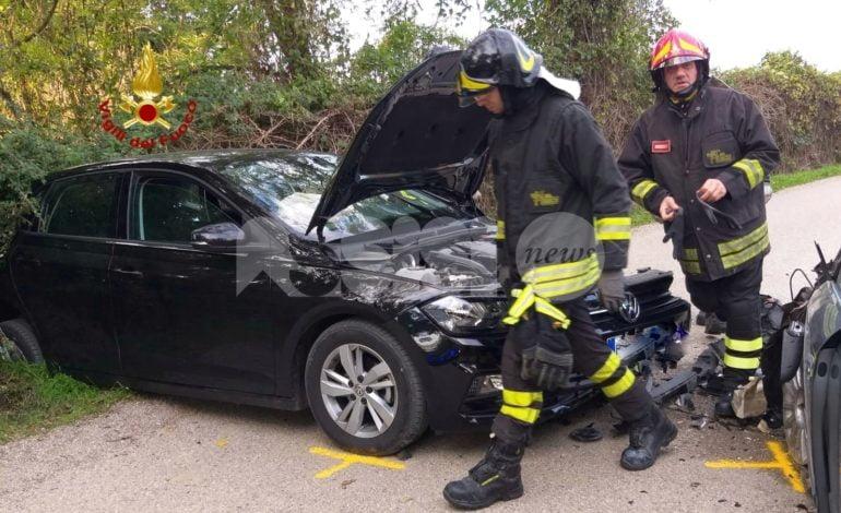 Incidente a Bettona, due feriti trasportati in ospedale a Perugia