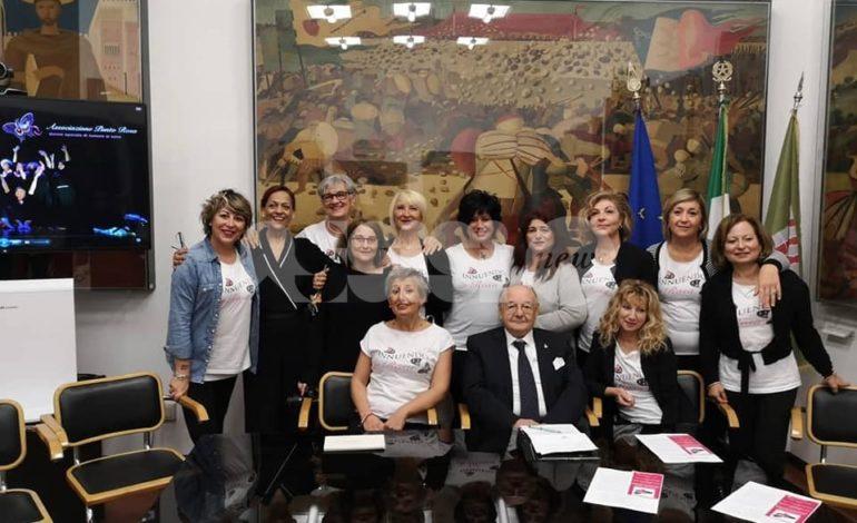 Presentato a Perugia il calendario 2019 del Punto Rosa (foto + video)