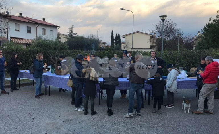 Domenica 18 novembre la Castagnata blu del Rione del Campo