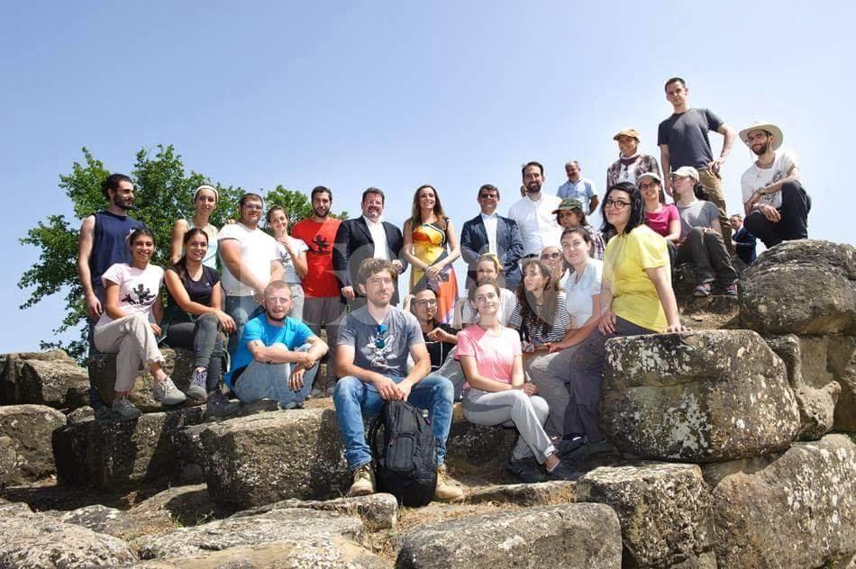 Nel sito di Urvinum Hortense di Collemancio c'era un teatro: la scoperta dell'Unipg