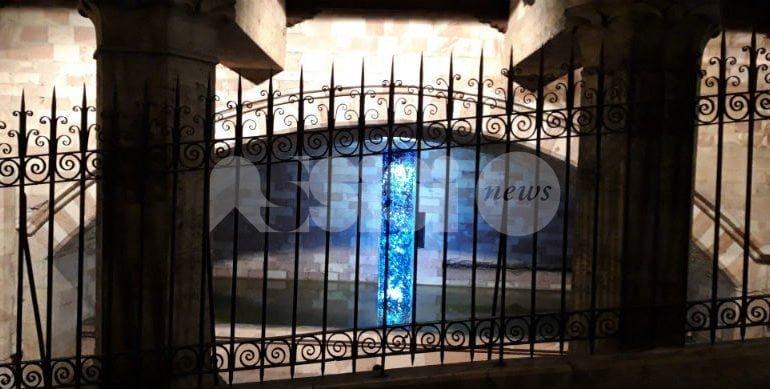 Clìmax di Stefano Frascarelli in mostra alla fonte di San Nicolò ad Assisi