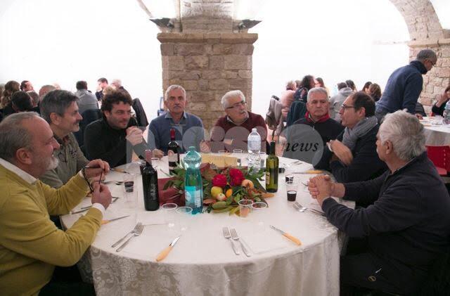Le compagnie Balestrieri di Assisi, Gubbio, San Marino e San Sepolcro si incontrano e si sfidano