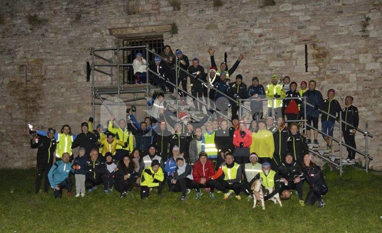 Assisi Runners, il 31 dicembre 2018 corsa e brindisi alla Rocca Maggiore