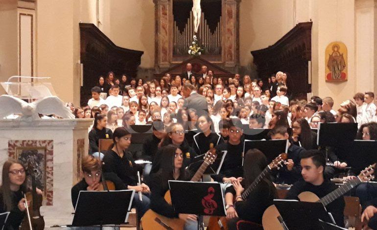 Si rinnova la tradizione del concerto di Natale dell'IC Assisi 3