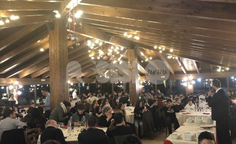 Successo per la cena degli auguri della Virtus Assisi: tanti i giovani e le famiglie