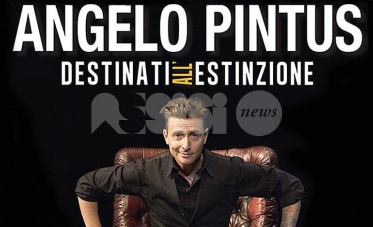 Angelo Pintus ad Assisi il 5 dicembre per Tourné 2018/2019