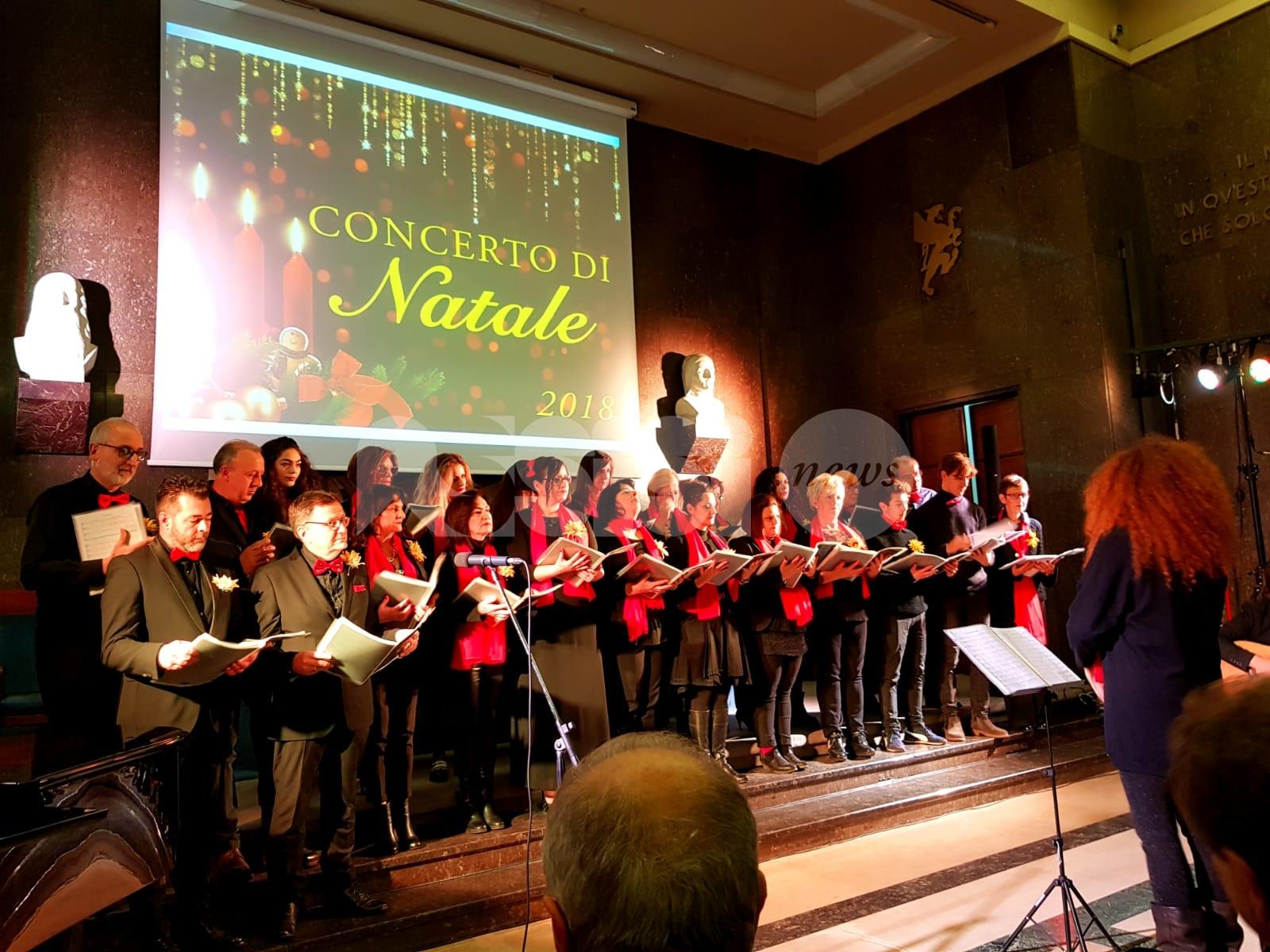 Il Coro Tordandreaincanto debutta al Concerto di Natale dell'Università di Perugia