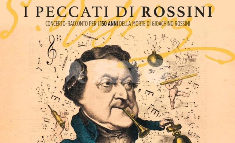 I peccati di Rossini il 20 dicembre alle 21 al Teatro Lyrick