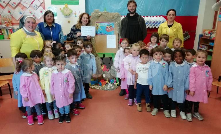 La scuola dell'infanzia San Paolo premiata dai Frati Minori