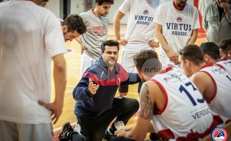 Basket, con la Virtus Assisi torna in città la pallacanestro di un tempo: sabato derby con Orvieto